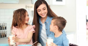 فوائد حليب الصويا للأطفال