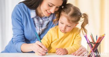 كيفية تعليم طفل 4 سنوات الكتابة