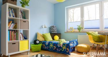 أنواع وأشكال مفارش سرير أطفال