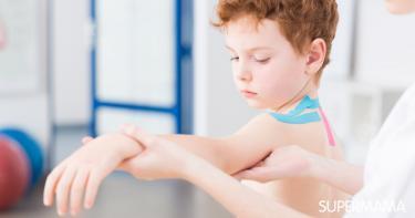 عظمة الترقوة عند الأطفال