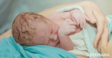 عدم بكاء الطفل بعد الولادة