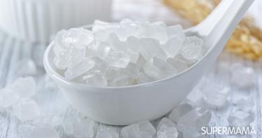 استخدام السكر النبات للرضع