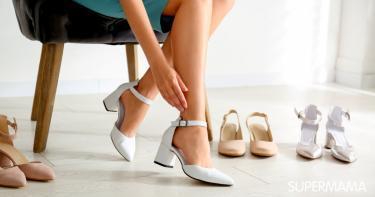 موديلات أحذية كعب متوسط
