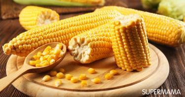 تناول الذرة خلال الحمل