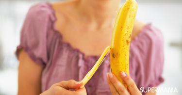 فوائد قشر الموز للشعر