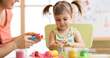 أنشطة لتسلية أطفال 3 سنوات