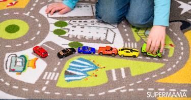 أشكال سجادة الألعاب للأطفال