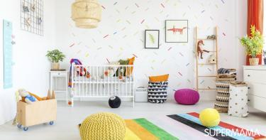 ديكور غرف أطفال حديثي الولادة