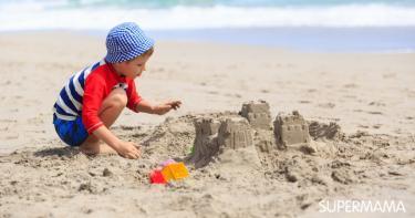 فوائد اللعب بالرمل للأطفال