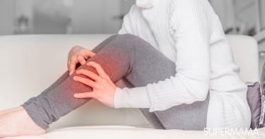 الشد العضلي في الساق