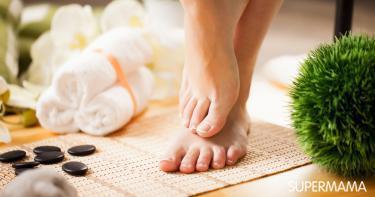 علاج سماكة أظافر القدمين