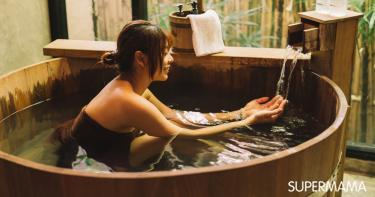 الاستحمام في اليابان