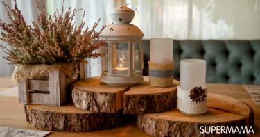أشكال تحف خشبية مودرن