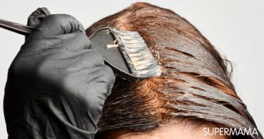 كيفية صبغ الشعر باللون البني