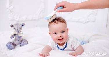مراحل نمو شعر الطفل الرضيع