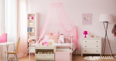 ألوان دهانات مناسبة لغرف أطفال بنات