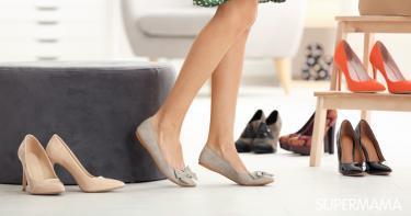 أنواع الأحذية النسائية