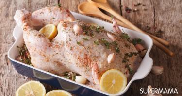 كيفية تتبيل الدجاج