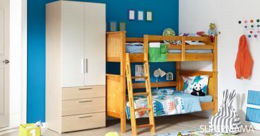 أشكال غرف أطفال دورين