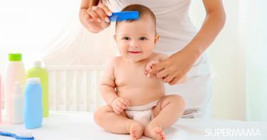 طرق ترطيب شعر الأطفال الرضع