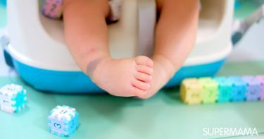 أسباب ظهور بقع زرقاء على جلد الرضيع