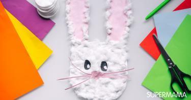 كيفية صنع قناع ارنب بالورق