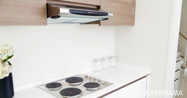 شفاط المطبخ بدون فتحة