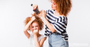 كيفية التعامل مع تشابك شعر الأطفال