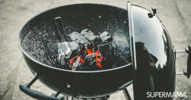 كيفية إشعال الفحم للشواء بمدخنة؟