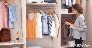 أفكار لتقسيم خزانة الملابس من الداخل