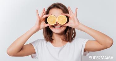 الليمون للبشرة الجافة