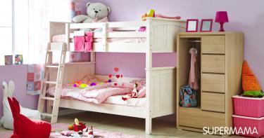 أشكال غرف نوم أطفال كلاسيك بسريرين