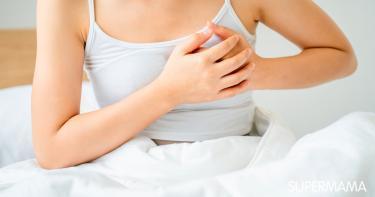 خروج دم من الثدي عند الضغط