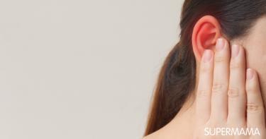 سخونة الأذن