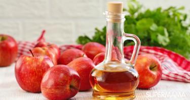 فوائد خل التفاح للأطفال