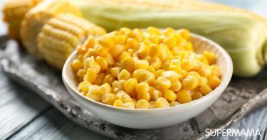 أنواع الذرة الصفراء