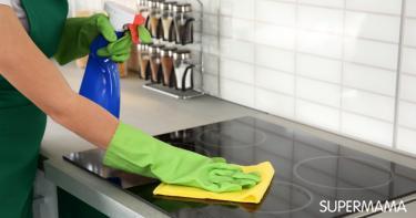 طريقة تنظيف البوتاجاز السيراميك