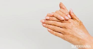 وصفات تقشير اليدين وتبييضها