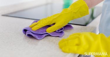 تنظيف الجرانيت من البقع