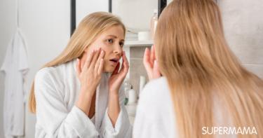 هل جفاف الوجه من علامات الحمل؟