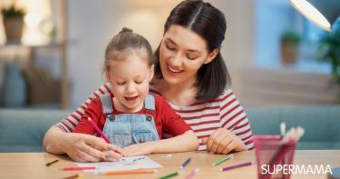 تعليم الرسم للاطفال 4 سنوات
