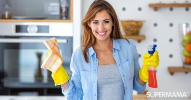 طريقة تنظيف سلك شباك المطبخ من الدهون