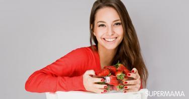 فوائد الفراولة للشعر