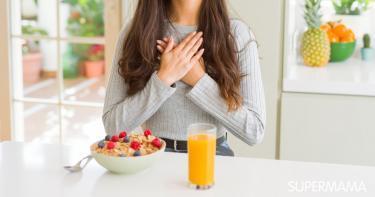 أسباب سرعة ضربات القلب بعد الأكل
