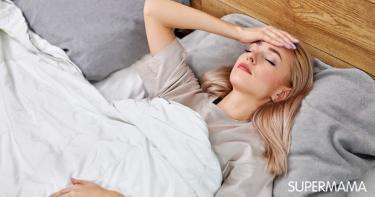 أسباب التعرق الليلي بعد الولادة