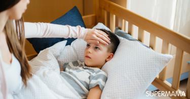 هل فطريات الفم تسبب حرارة عند الأطفال