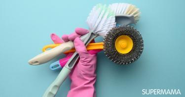 فرش تنظيف الحمام