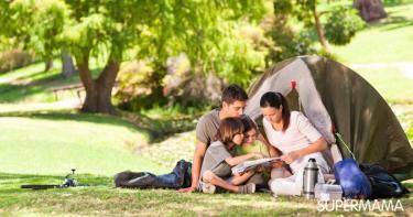 فوائد رحلات التخييم مع العائلة