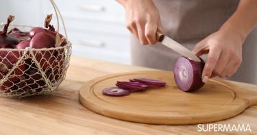 طرق تقطيع البصل