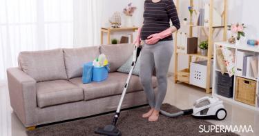 تنظيف البيت قبل العيد للحامل
